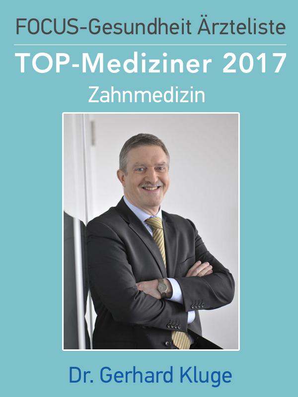 Dr. Kluge Focus Siegel 2017